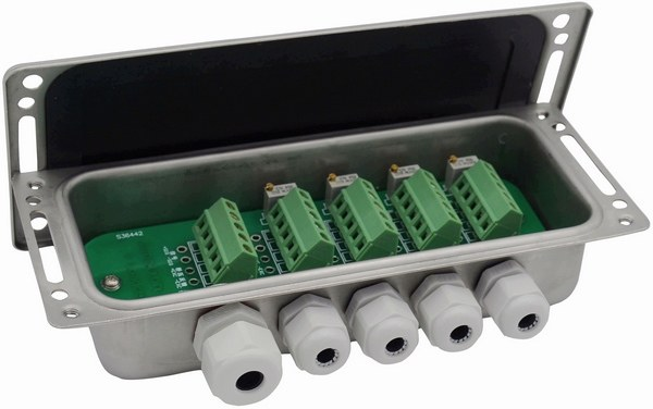 load cell junction box